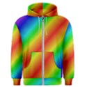 Background Diagonal Refraction Men s Zipper Hoodie View1
