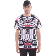Ethnic Traditional Art Men s Sports Mesh Tee