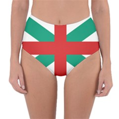Naval Jack Of Bulgaria Reversible High-waist Bikini Bottoms by abbeyz71