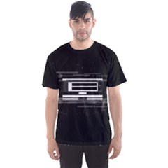 Mei Black Original Men s Sports Mesh Tee by concon
