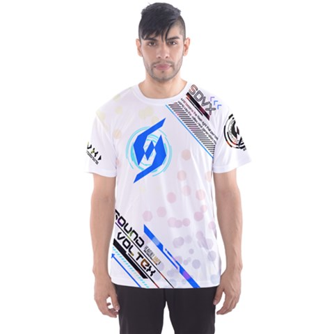 Sdvx4 White Men s Sports Mesh Tee by concon