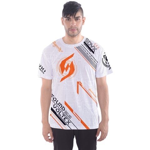 Sdvx3 White Men s Sports Mesh Tee by concon