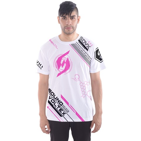 Sdvx2 White Men s Sports Mesh Tee by concon