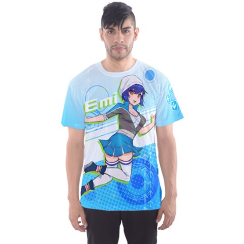 Ddr Emi Men s Sports Mesh Tee by concon