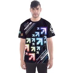 Ddr Vivid Dark Men s Sports Mesh Tee by concon
