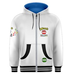 Pop n Music Men s Zipper Hoodie by concon