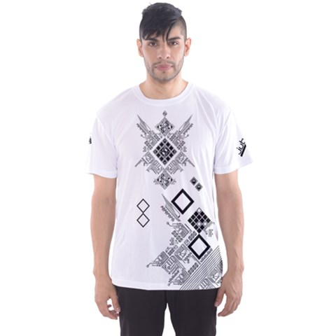 Jubeat Shirt Men s Sports Mesh Tee by concon