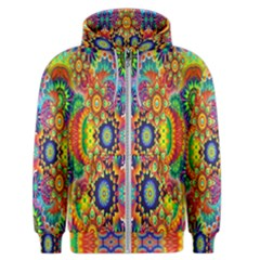 Artwork By Patrick Colorful 47 Men s Zipper Hoodie by ArtworkByPatrick