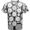 Gears Tree Structure Networks Men s Cotton Tee View1