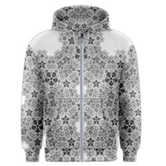 Fractal Background Foreground Men s Zipper Hoodie by Sapixe