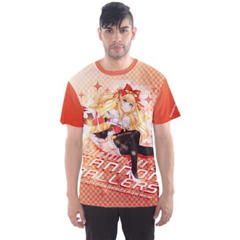 Iidx Poster-chan Shirt Men s Sports Mesh Tee by concon