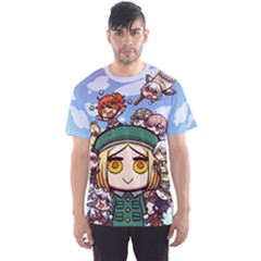 Fgo Riyo Chibi Shirt Men s Sports Mesh Tee by concon
