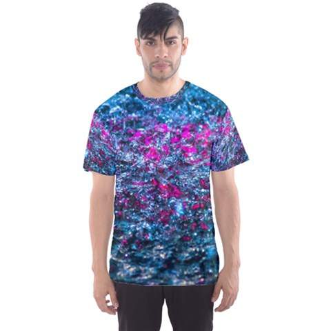 Water Color Violet Men s Sports Mesh Tee by FunnyCow