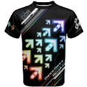 DDR Vivid Dark Cotton Men s Cotton Tee View1