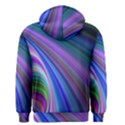 Background Abstract Curves Men s Zipper Hoodie View2