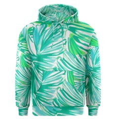 Painting Leafe Green Summer Men s Pullover Hoodie by AnjaniArt