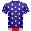 Day Independence July Background Men s Cotton Tee View1