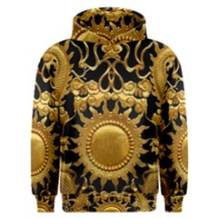 Golden Sun Men s Overhead Hoodie by Jojostore