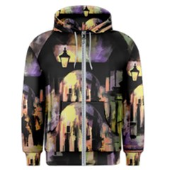 Street Colorful Abstract People Men s Zipper Hoodie by Jojostore