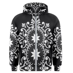 Table Pull Out Computer Graphics Men s Zipper Hoodie