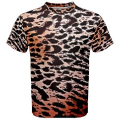 Tiger Motif Animal Men s Cotton Tee
