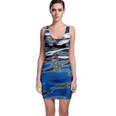 Colorful Reflections In Water Bodycon Dress