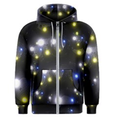 Abstract Dark Spheres Psy Trance Men s Zipper Hoodie