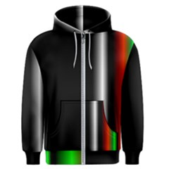 Colorful Neon Background Images Men s Zipper Hoodie by Jojostore