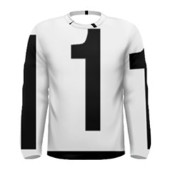 Tjóevegur 1 (route 1) Hringvegur (ring Road) Men s Long Sleeve Tee by abbeyz71