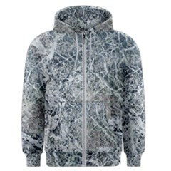 Marble Pattern Men s Zipper Hoodie by Alisyart