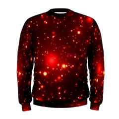 Firework Star Light Design Men s Sweatshirt by Bejoart