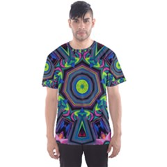 Abstract Art Background Men s Sports Mesh Tee