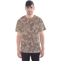 Camouflage In Brown Men s Sports Mesh Tee