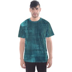 Fabric In Turquoise Men s Sports Mesh Tee