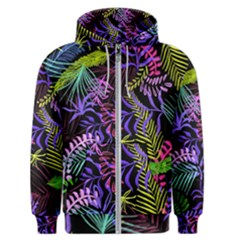 Leaves Nature Design Plant Men s Zipper Hoodie