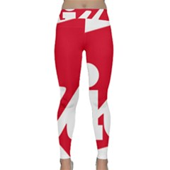 Logo Of United Left Political Coalition Of Spain Classic Yoga Leggings by abbeyz71