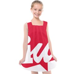 Logo Of United Left Political Coalition Of Spain Kids  Cross Back Dress by abbeyz71