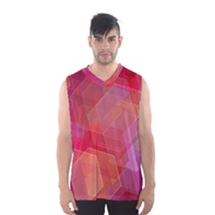 Abstract Background Texture Men s Basketball Tank Top