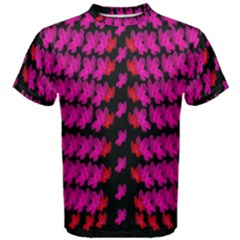 Flowers Coming From Above Men s Cotton Tee