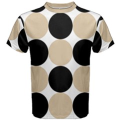 Dots Effect  Men s Cotton Tee