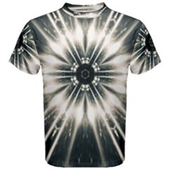 Abstract Fractal Space Men s Cotton Tee