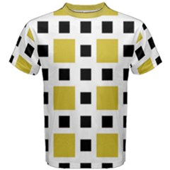 Squares On A Mission Men s Cotton Tee