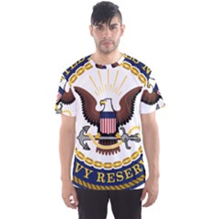 Seal Of United States Navy Reserve Men s Sports Mesh Tee