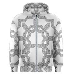Encapsulated Men s Zipper Hoodie