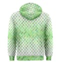 Green Pattern Curved Puzzle Men s Zipper Hoodie View2
