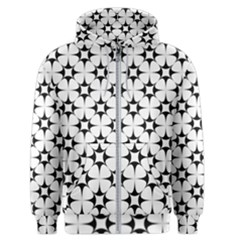 Star Background Men s Zipper Hoodie