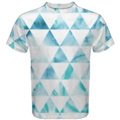 Hipster Triangle Pattern Men s Cotton Tee