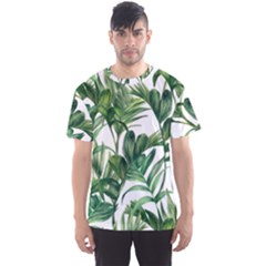 Palm Leaf Men s Sports Mesh Tee