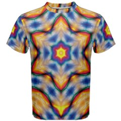 Pattern Abstract Background Art Men s Cotton Tee by Pakrebo