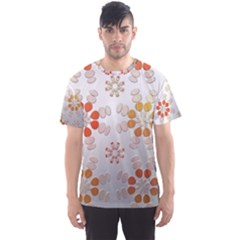 Wallpaper Pattern Abstract Men s Sports Mesh Tee